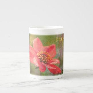 Hope Flower Bone China Mug