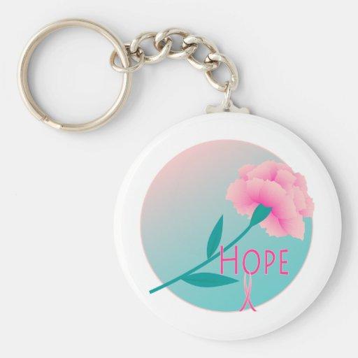 Hope Flower Key Chain