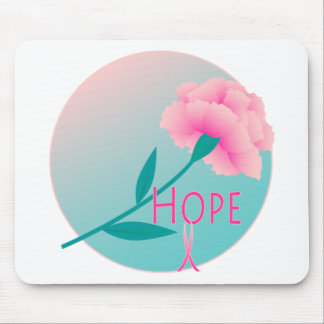 Hope Flower Mouse Pad