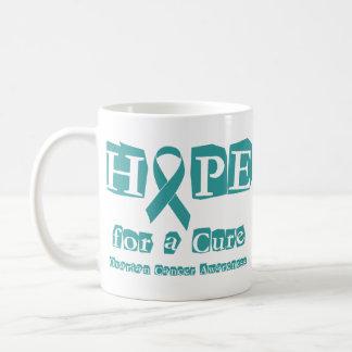Hope for a Cure - Ovarian Cancer Basic White Mug