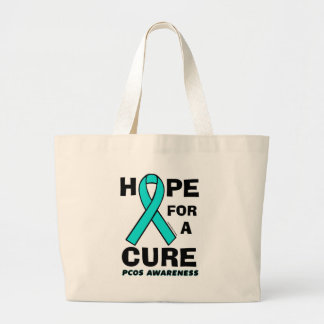 Hope For A Cure...PCOS Large Tote Bag