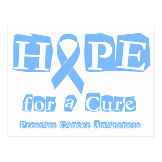 Hope for a Cure - Prostate Cancer Postcard