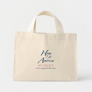 Hope for America striped tote Tote Bags