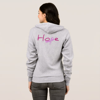 Hope for Breast Cancer Awareness Hoodie