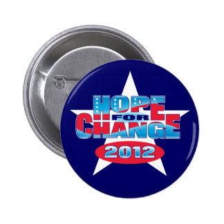 Hope for Change 2012 Pins