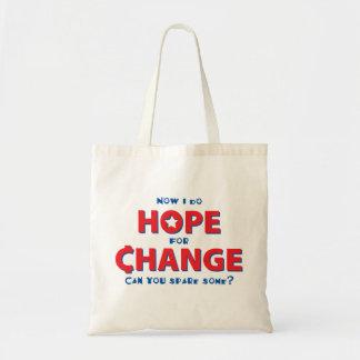 Hope for Change Budget Tote Bag