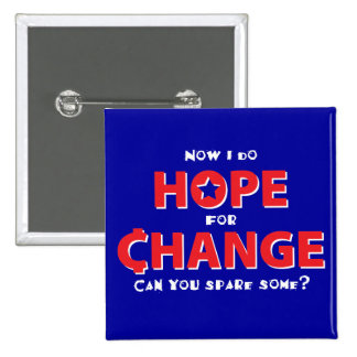 Hope for Change Buttons