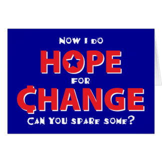 Hope for Change Greeting Card