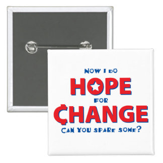 Hope for Change Pins