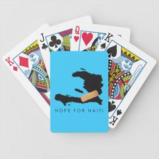 Hope For Haiti Bicycle Playing Cards