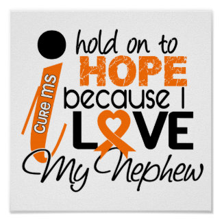 Hope For My Nephew MS Multiple Sclerosis Print