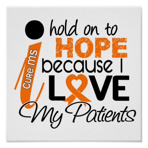 Hope For My Patients Multiple Sclerosis MS Posters
