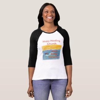 Hope Healing Church Christian Baseball Shirt