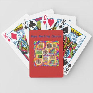 Hope Healing Church Christian Cross Playing Cards
