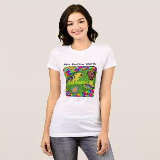 Hope Healing Church Christian God Creation T-Shirt