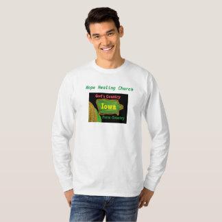 Hope Healing Church Christian Iowa Long T-Shirt