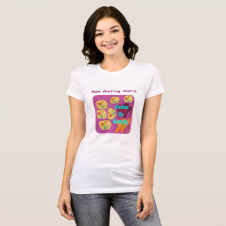 Hope Healing Church Christian Jesus Flower T-Shirt