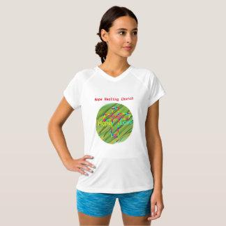 Hope Healing Church Christian Peace V-Neck T-Shirt