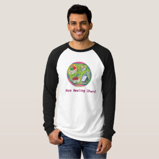 Hope Healing Church Christian Raglan T-Shirt