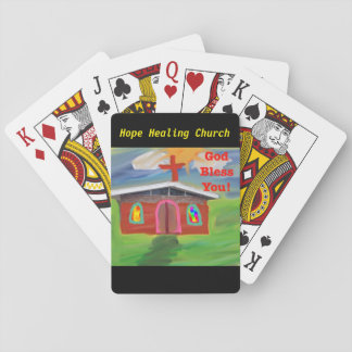 Hope Healing Church God Bless You Playing Cards