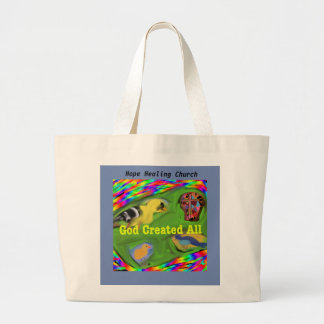 Hope Healing Church God Creation Tote Bag