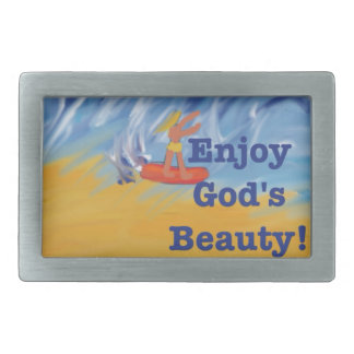 Hope Healing Church God's Beauty Belt Buckle