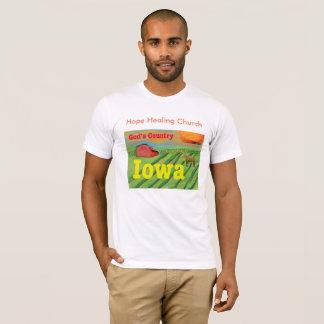 Hope Healing Church Iowa Christian Farm T-Shirt