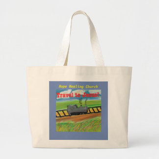 Hope Healing Church Jesus Christian Tote Bag