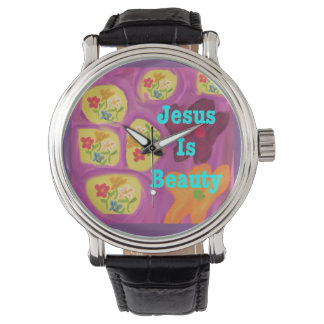 Hope Healing Church Jesus Is Beauty Wrist Watch