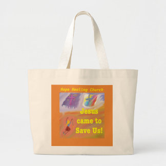 Hope Healing Church Jesus Saves Tote Bag