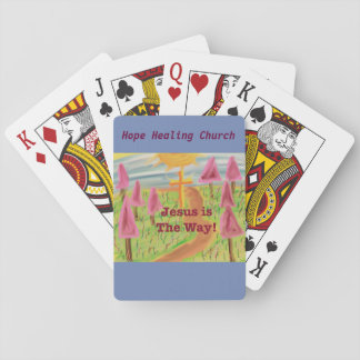 Hope Healing Church Jesus The Way Playing Cards