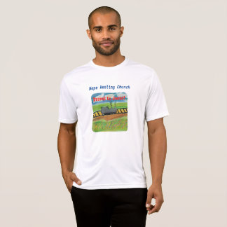 Hope Healing Church Jesus Train Christian T-Shirt