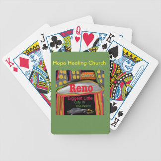 Hope Healing Church Reno Nevada Playing Cards