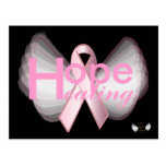 Hope Healing Pink Ribbon Angelic Wings-Customise