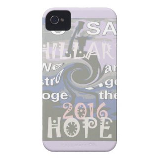Hope  Hillary USA We Are Stronger Together iPhone 4 Cases