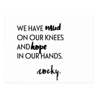 Hope in our hands postcard
