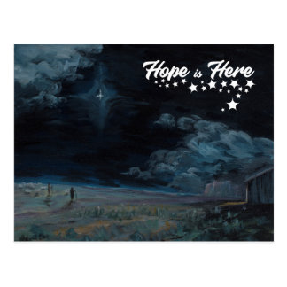 Hope Is Here Postcard
