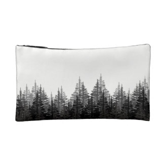 Hope is the only thing stronger than fear forest cosmetic bag