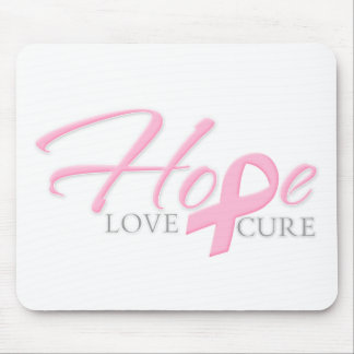 Hope Love Cure Mouse Pad
