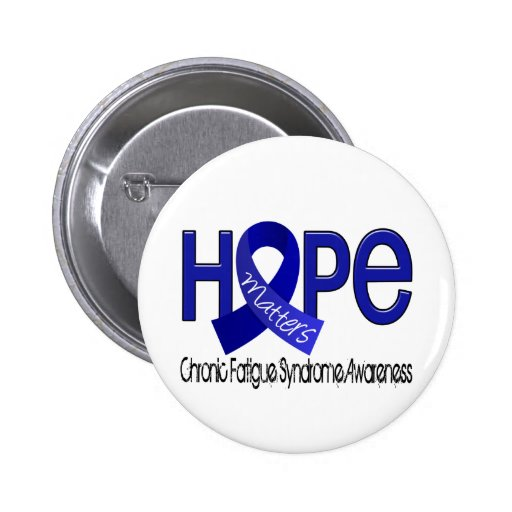 Hope Matters 2 CFS Chronic Fatigue Syndrome Pins
