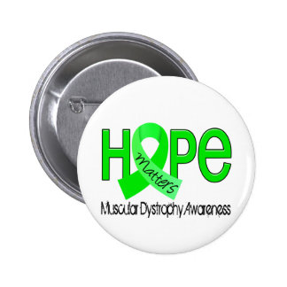 Hope Matters 2 Muscular Dystrophy 6 Cm Round Badge