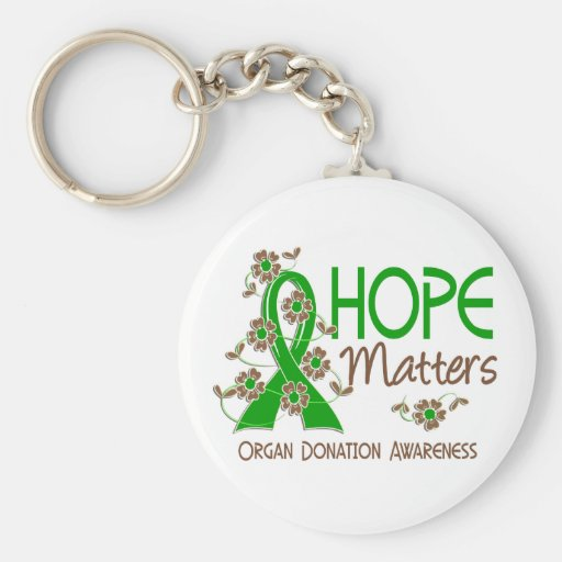 Hope Matters 3 Organ Donation Key Chains