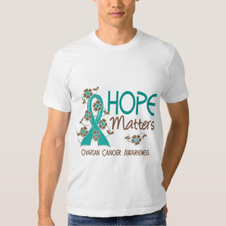 Hope Matters 3 Ovarian Cancer Tees