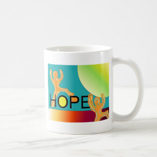 HOPE CLASSIC WHITE COFFEE MUG
