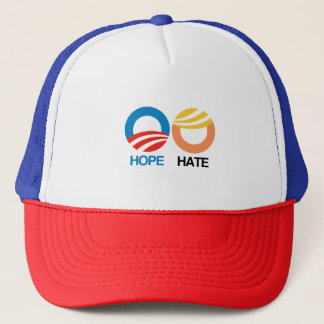 HOPE (Obama) vs. HATE (Trump) Trucker Hat