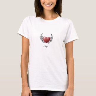 Hope on Angel Wings T-Shirt