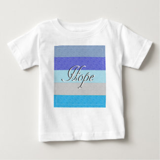 HOPE on Blue Baby T-Shirt