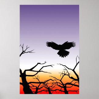 Hope on the Horizon - Sunset Poster
