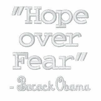 """""""Hope over Fear"""" - Barack Obama Jacket"""