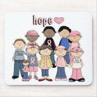 Hope Pink Ribbon Mousepad